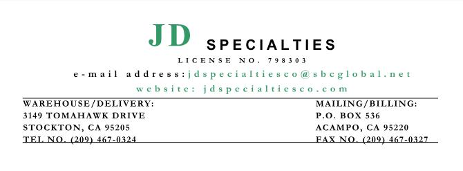 JDSpecialties