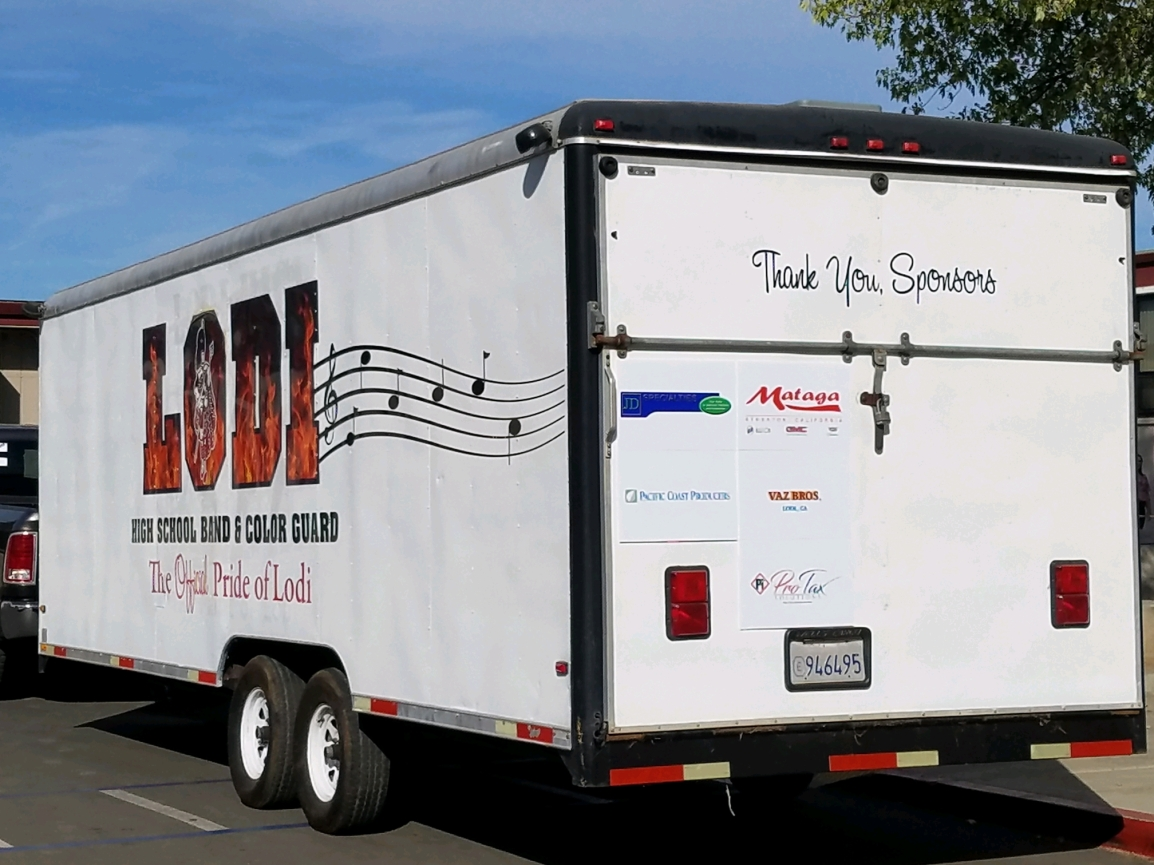 Trailer and sponsors